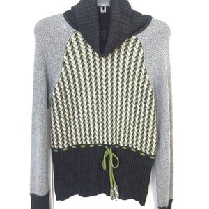 Anthropologie | SPARROW Gray Cowl Neck Sweater Med